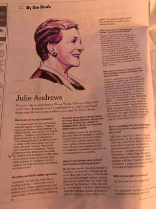 NY Times Julie Andrews
